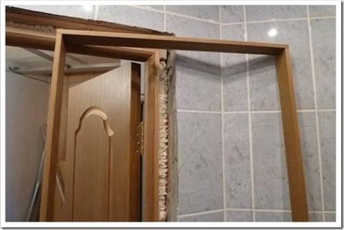 Выполнение подготовки дверного проёма