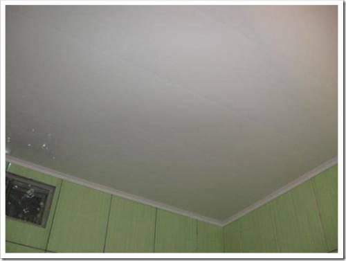 Варианты материалов для потолка