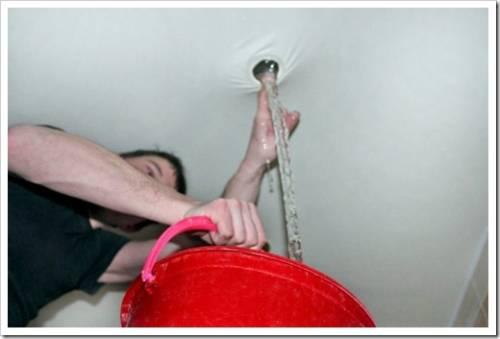 Удаление воды: резать ничего не нужно!