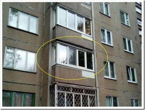 Алюминиевый профиль для балконной рамы