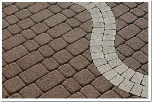 Особенности укладки тротуарной плитки