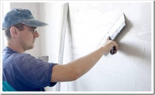 Технические рекомендации к выполнению шпаклевания стен