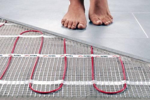 Как правильно уложить электрический теплый пол