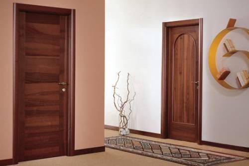 Двери ламинированные или шпонированные: что лучше