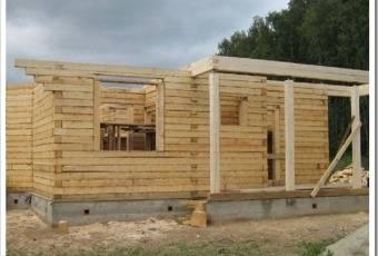 Строительство дома из готового домокомплекта