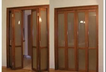 Подготовительный этап по сборке двери-гармошки