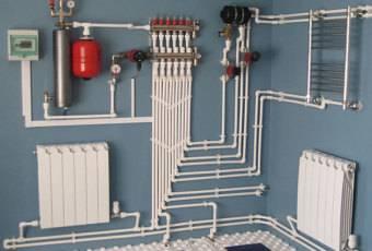 Монтаж электроотопления в частном доме