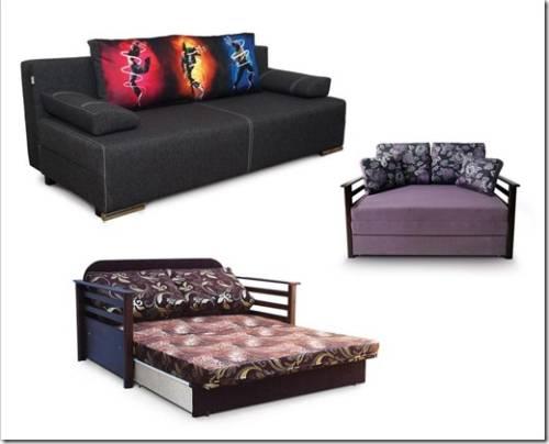 Современные модели диванов