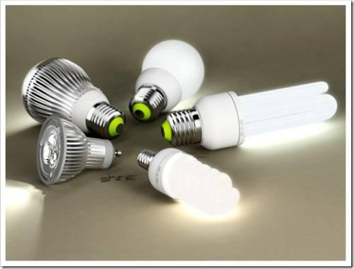 Яркость светодиодной лампы