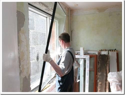 Надёжное закрепление пластикового окна