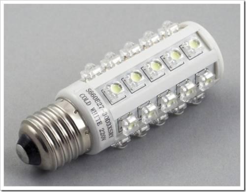 Типы патронов светодиодных ламп