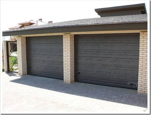 Ворота для гаража Ритерна