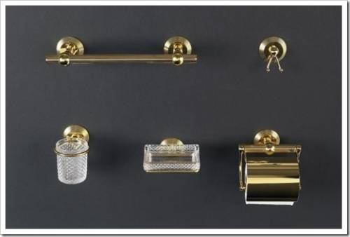 Аксессуары для ванной из бронзы