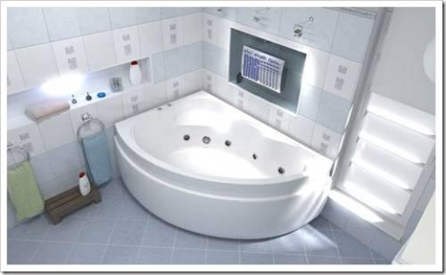 Лучшая акриловая ванна для квартиры