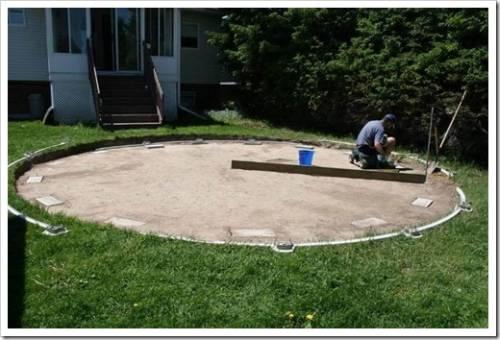 Подготовка площадки
