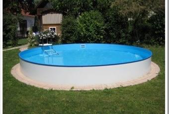Этапы установки каркасного бассейна