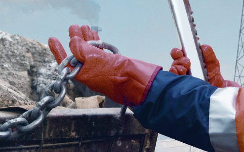 Виды строительных перчаток для механических работ