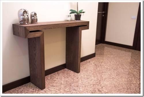 Консольная мебель: преимущества использования на практике