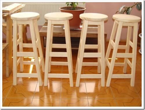 Самостоятельное создание барного стула
