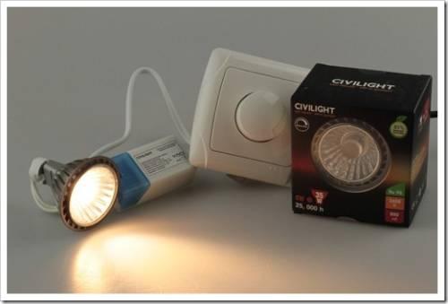 Положительные аспекты эксплуатации диммируемого освещения