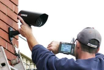 Монтаж IP видеонаблюдения