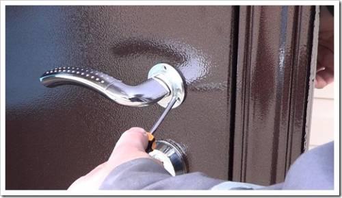 Фурнитура двери и дизайн