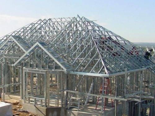 Виды строительных металлоконструкций
