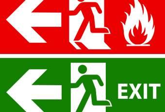 Какие должны быть планы эвакуации при пожаре