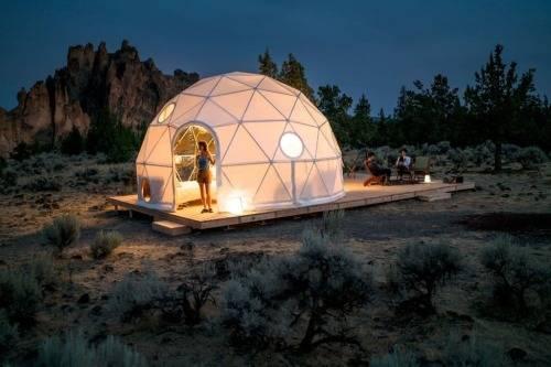 Что такое геодезические купола