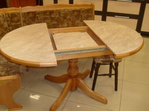 Как собрать раздвижной кухонный стол
