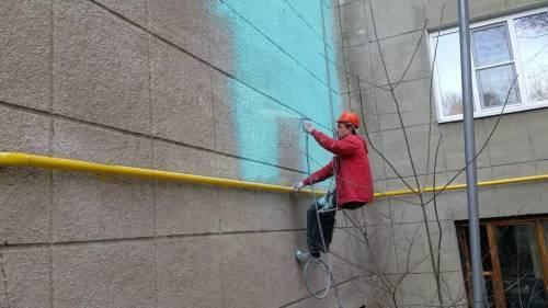 При какой температуре можно красить фасадной краской