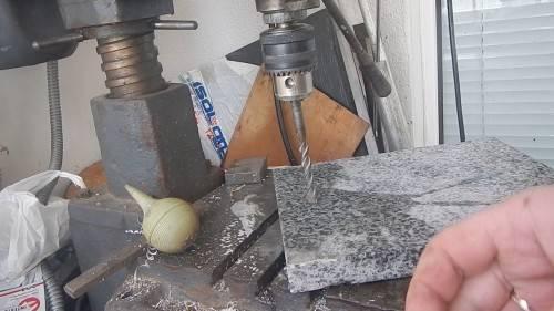 Как просверлить гранитную плиту