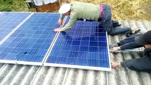 Как собрать солнечную электростанцию
