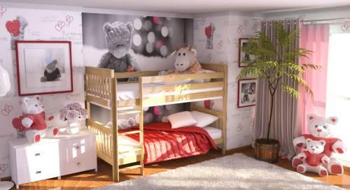 Какие бывают двухэтажные кровати