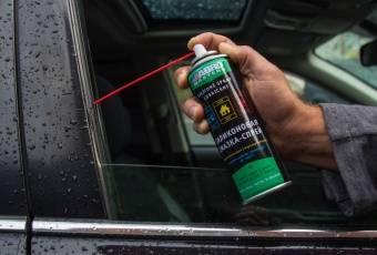 Чем смазать резиновые уплотнители дверей авто