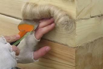 Как утеплить дом из профилированного бруса