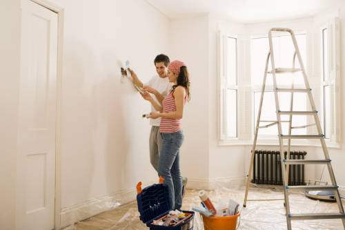 Как сделать недорогой ремонт гостиной