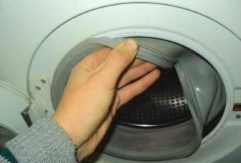 Как заменить манжету люка стиральной машины