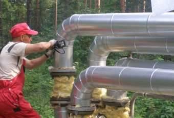 Монтаж теплоизоляции труб