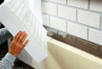 Какой пенопласт использовать для утепления фасада