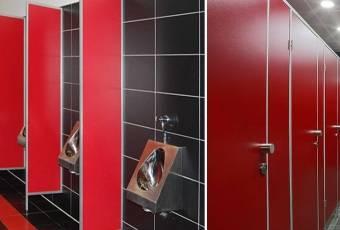 Сантехнические перегородки в туалет: характеристики
