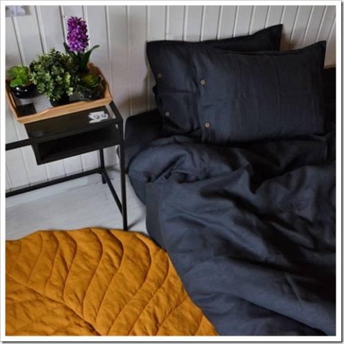 Виды льна, используемые для производства постельных комплектов