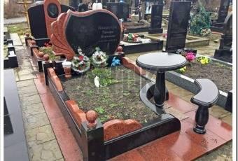 Памятник, стела, оформление могилы