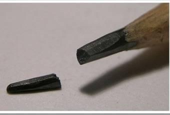 Графитовая смазка из карандаша