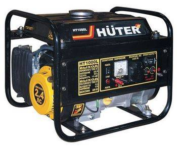 Купить Генератор бензиновый HUTER HT1000L 64/1/2 2 л. С., 1 к Вт