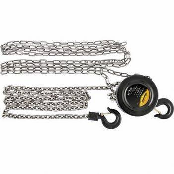 Купить Таль цепная SPARTA 519195 3 т, h подъема 3 м, расстояние между крюками 470 мм