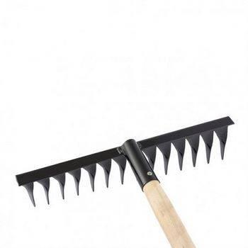 Купить Грабли 14-зубые, 350мм, с черенком, витые СИБРТЕХ