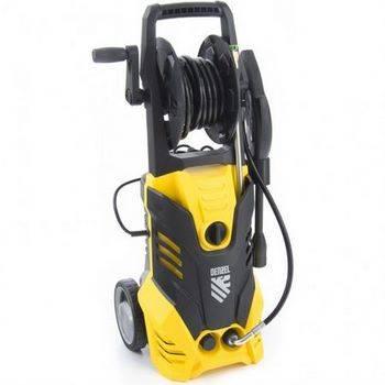 Купить Моечная машина высокого давления R-165D, 2200 Вт, 165 бар, 7 л/мин, с барабаном DENZEL