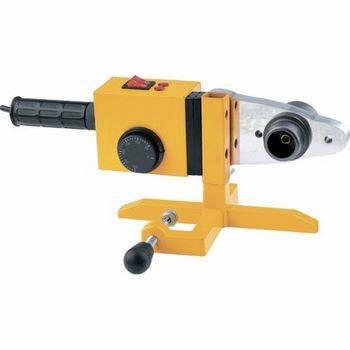 Купить Аппарат для сварки пластиковых труб DWP-1500, 1500Вт, 260-300 град. компл насадок,20-63 мм DENZEL