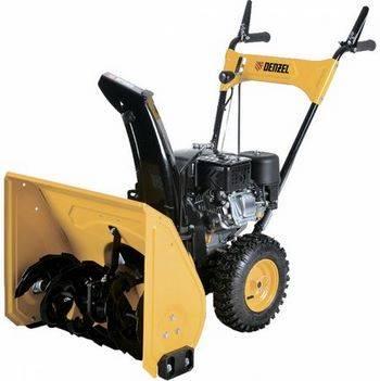 Купить Снегоуборочная машина бензиновая DENZEL GSB-53 6, 5 л. с, ручной пускер, 97610